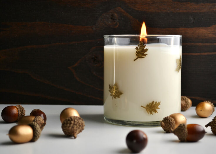 DIY Pumpkin Spice Candle for Fall