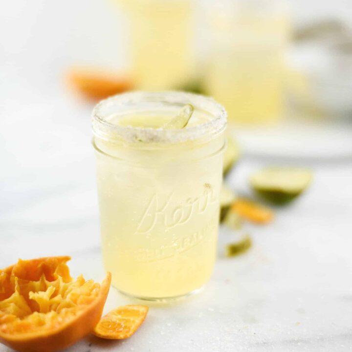 Coconut & Tangerline LaCroix Margarita