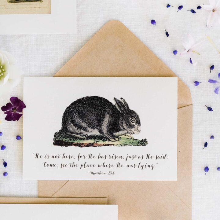DIY Printable Easter Cards