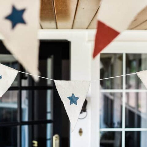 Fourth of July DIY Bunting