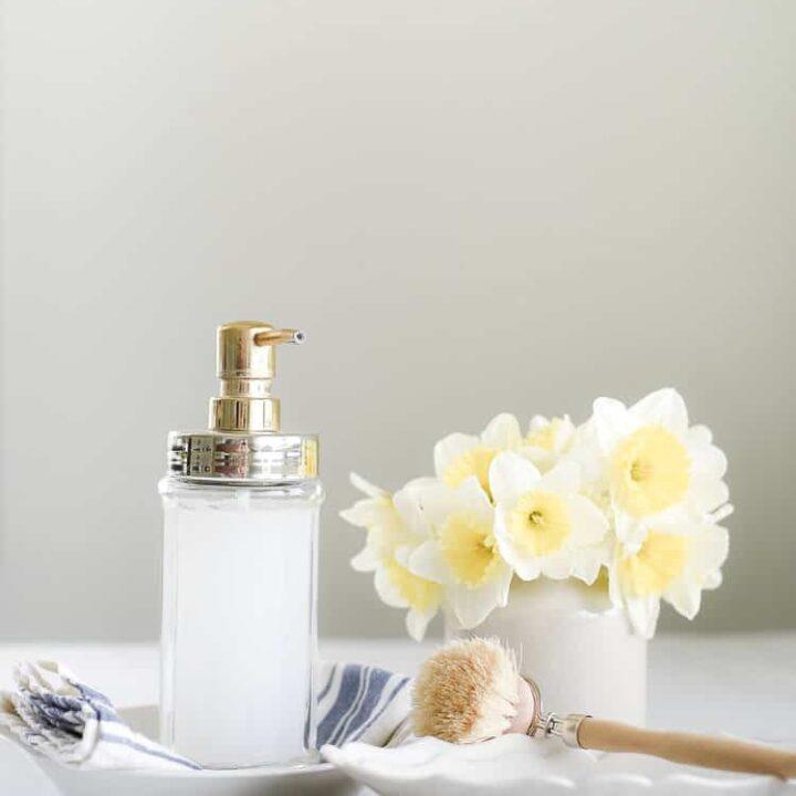 DIY Liquid Hand Soap with Castile Soap