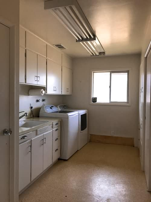 I enjoyed sharing the process of our dining room during the One Room Challenge this fall so much that I thought I'd share a similar series as we renovate our laundry room.