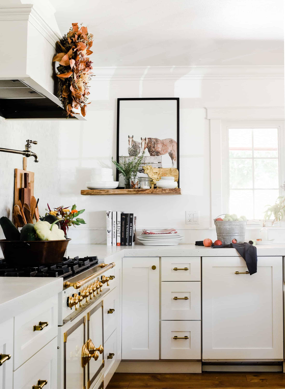 Fall Decorating Ideas: A Modern Farmhouse Kitchen - Boxwood Ave