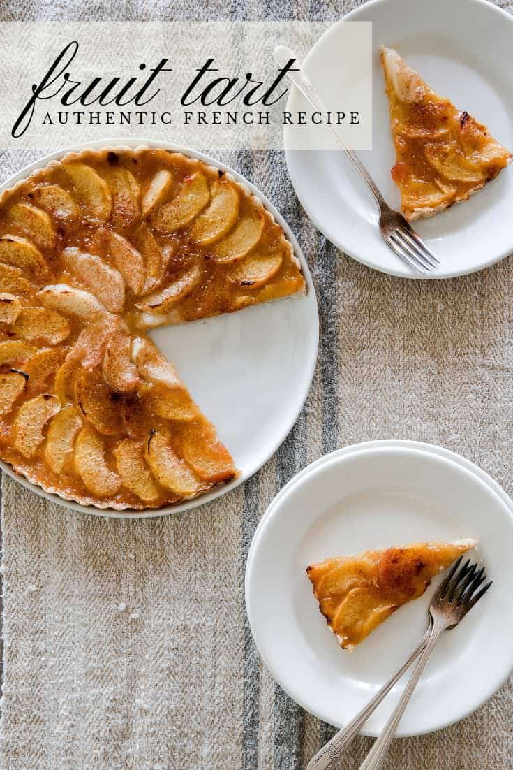 Learn this simple method for making a classic French fruit tart recipe. This recipe is beyond easy and can be adapted to work with any type of jam or fruit!