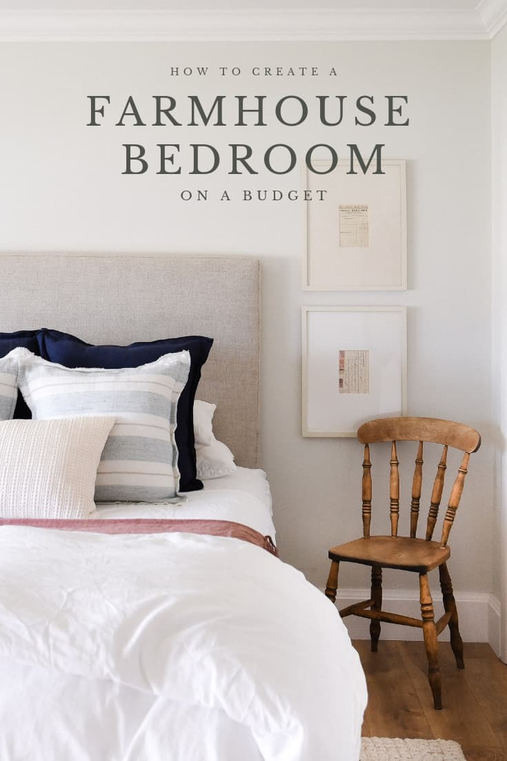 Farmhouse Bedroom Design Tour Our Guest Bedroom Boxwood Ave