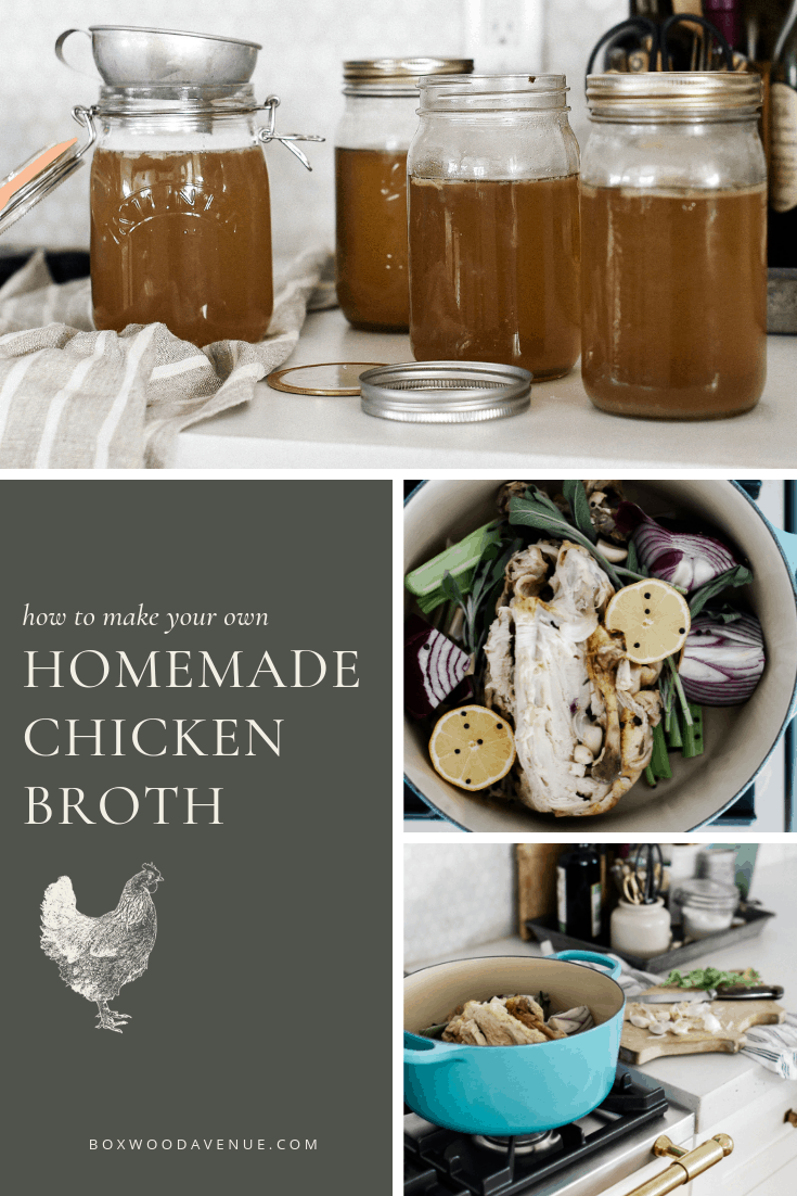 If you're hoping to make your own chicken broth, you're in luck! It's one of the easiest ways to stretch your budget and consume every bit of the animal! Homemade chicken broth allows you to customize the flavor, and know exactly what's in your broth. Now, let's make some chicken broth!