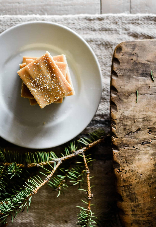 Salted Caramel Shortbread Bars the Best Christmas Treat!