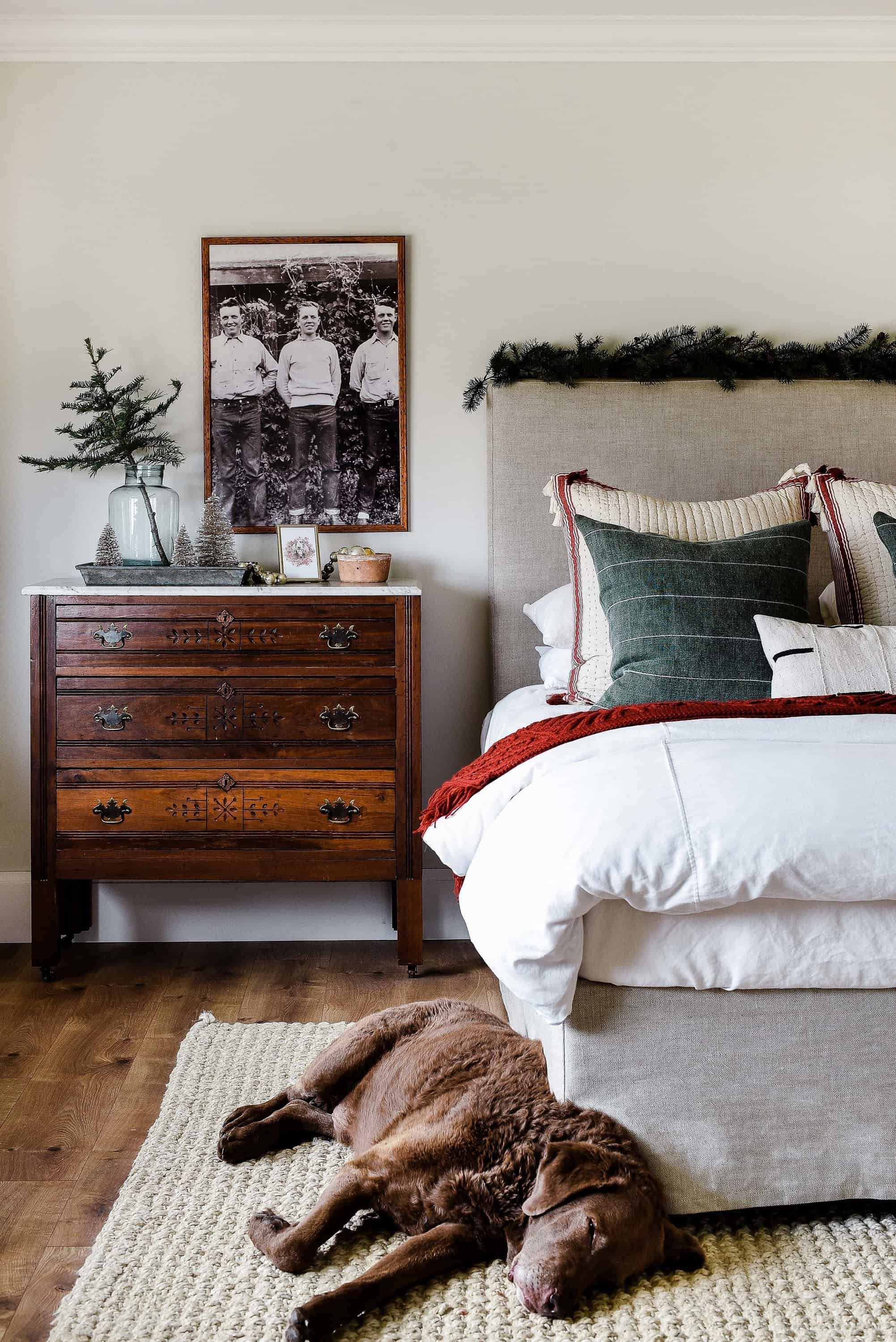Farmhouse Christmas Decor: Our Christmas Guest Bedroom ... on farmhouse bedroom with wood bed, farmhouse bedroom paint, farmhouse master bedroom, farmhouse furniture and rooms and ideas, farmhouse fixer upper bedroom, old farmhouse decorating ideas, farmhouse powder room decorating ideas, farmhouse living room, farmhouse bedroom window treatments, farmhouse bedroom style, rustic farmhouse decorating ideas, rustic farmhouse bedroom ideas, farmhouse bathroom ideas, rustic country decorating ideas, modern farmhouse decorating ideas, farmhouse bedroom furniture, primitive country decorating ideas, country farmhouse bedroom ideas, farmhouse decor, farmhouse bedroom sets ideas,