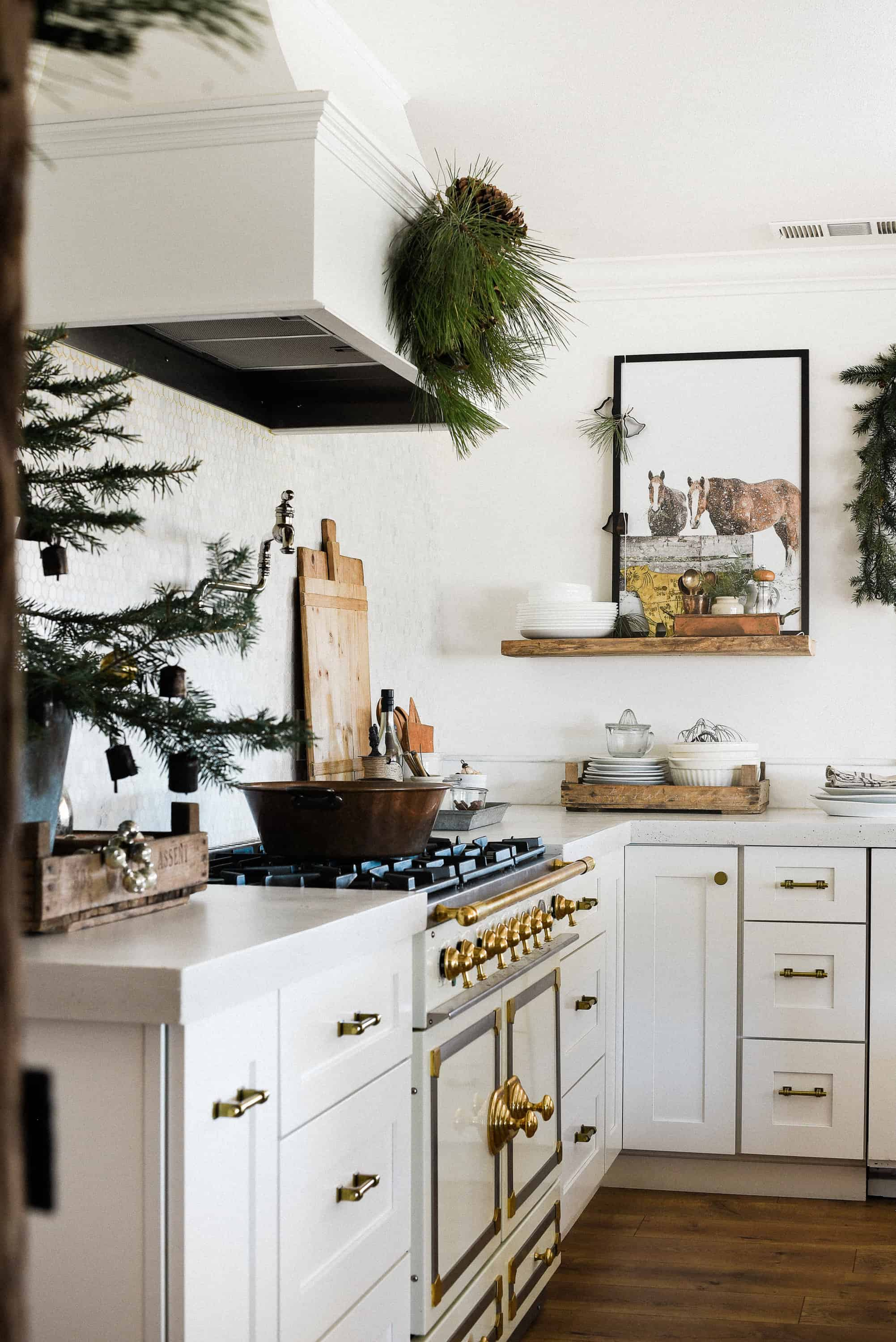 Farmhouse Christmas Decorating Ideas: Our Christmas Kitchen ...