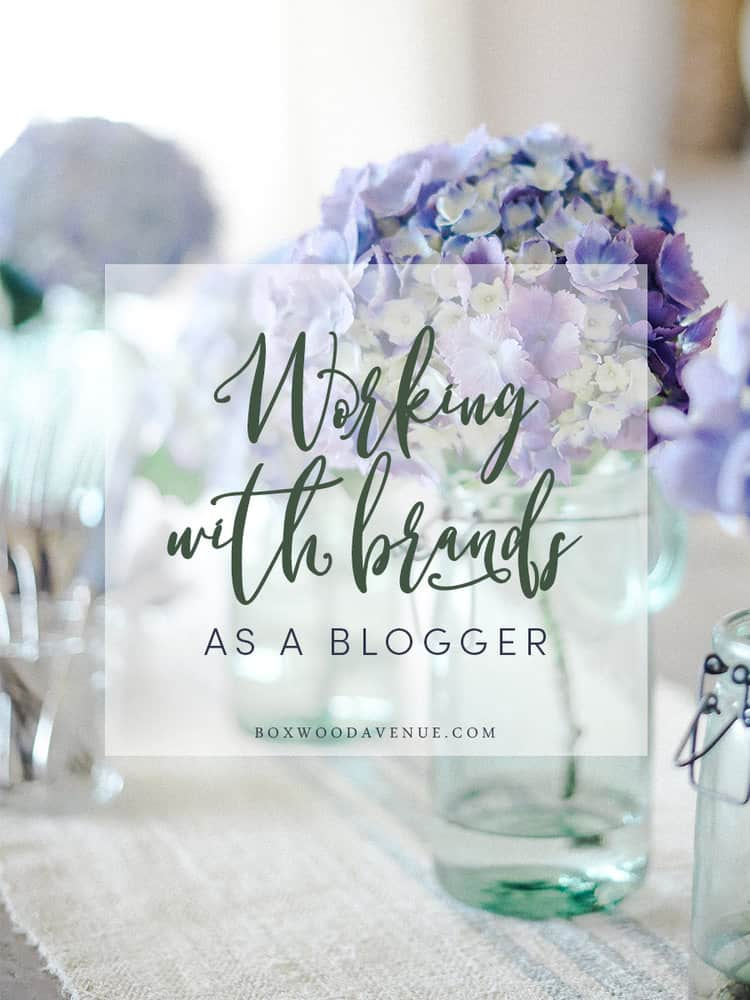 I have recently received a lot of questions about working with brands: How do bloggers work with brands? How can I work with a brand? Do you get paid to work with brands?
