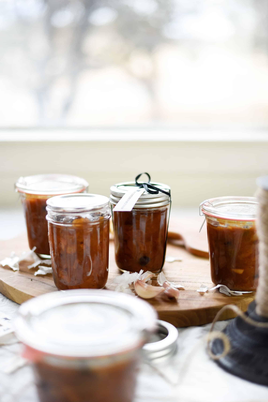 spiced chutney preserves