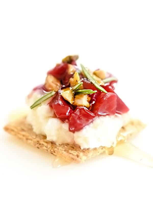 Triscuit toppings for easy entertaining