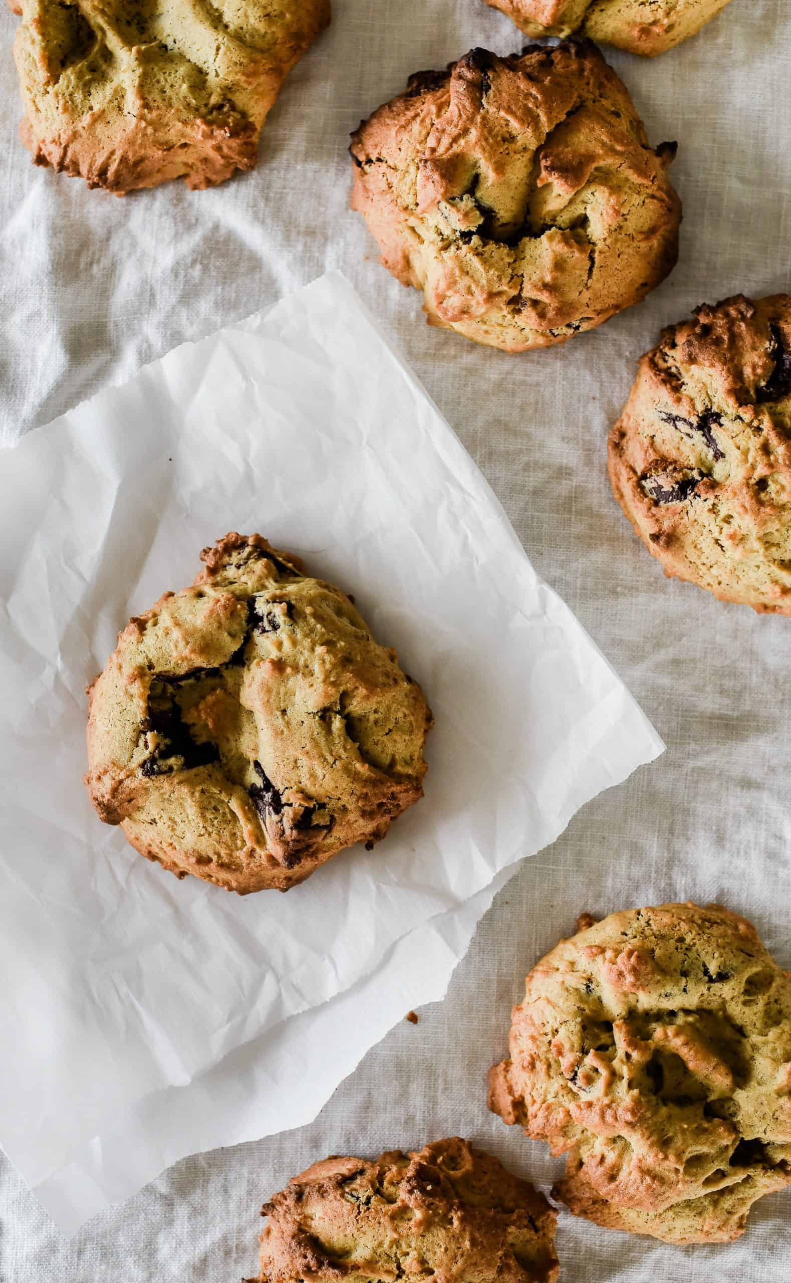The best chocolate chip pumpkins cookies ever!