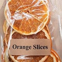 On The Bright Side Dried Orange Slices for Potpourri and Bowl Fillers, 20-25 Med/Large Slices - 3oz