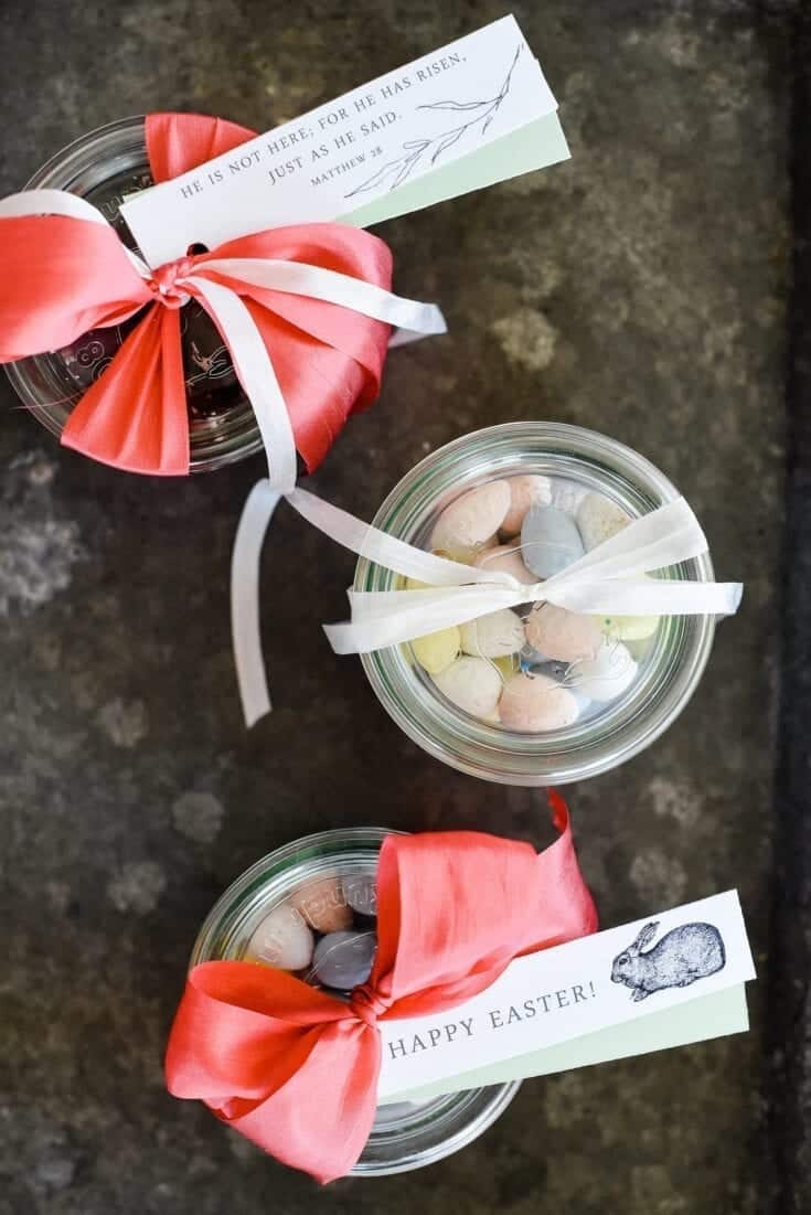 Easter Treats with Gift Tags