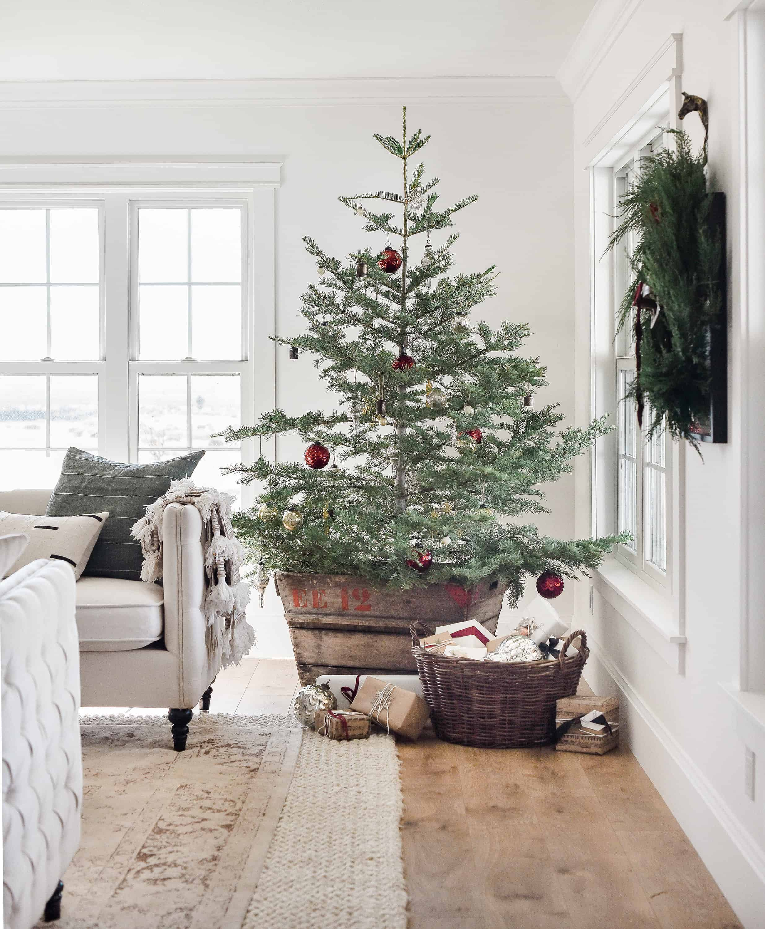 If you're wondering where to find real Christmas trees near you, or how to pick the best real Christmas tree, you're in luck! Today we're sharing everything you need to know about real Christmas trees: from how much they cost to how to care for them!
