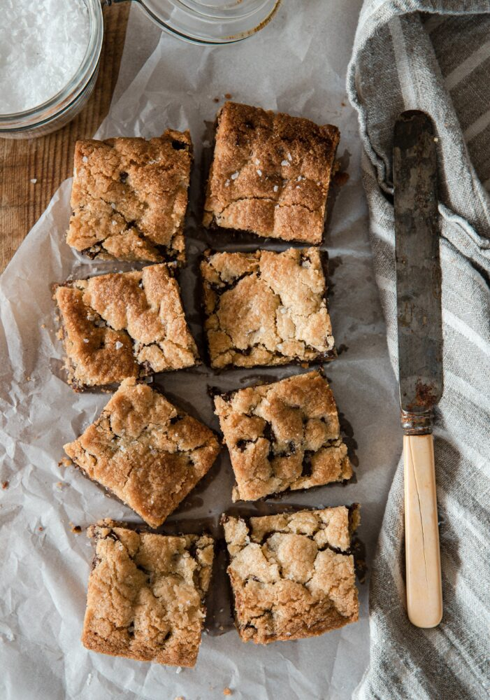 Chewy Chocolate Chip Cookie Bar Recipe