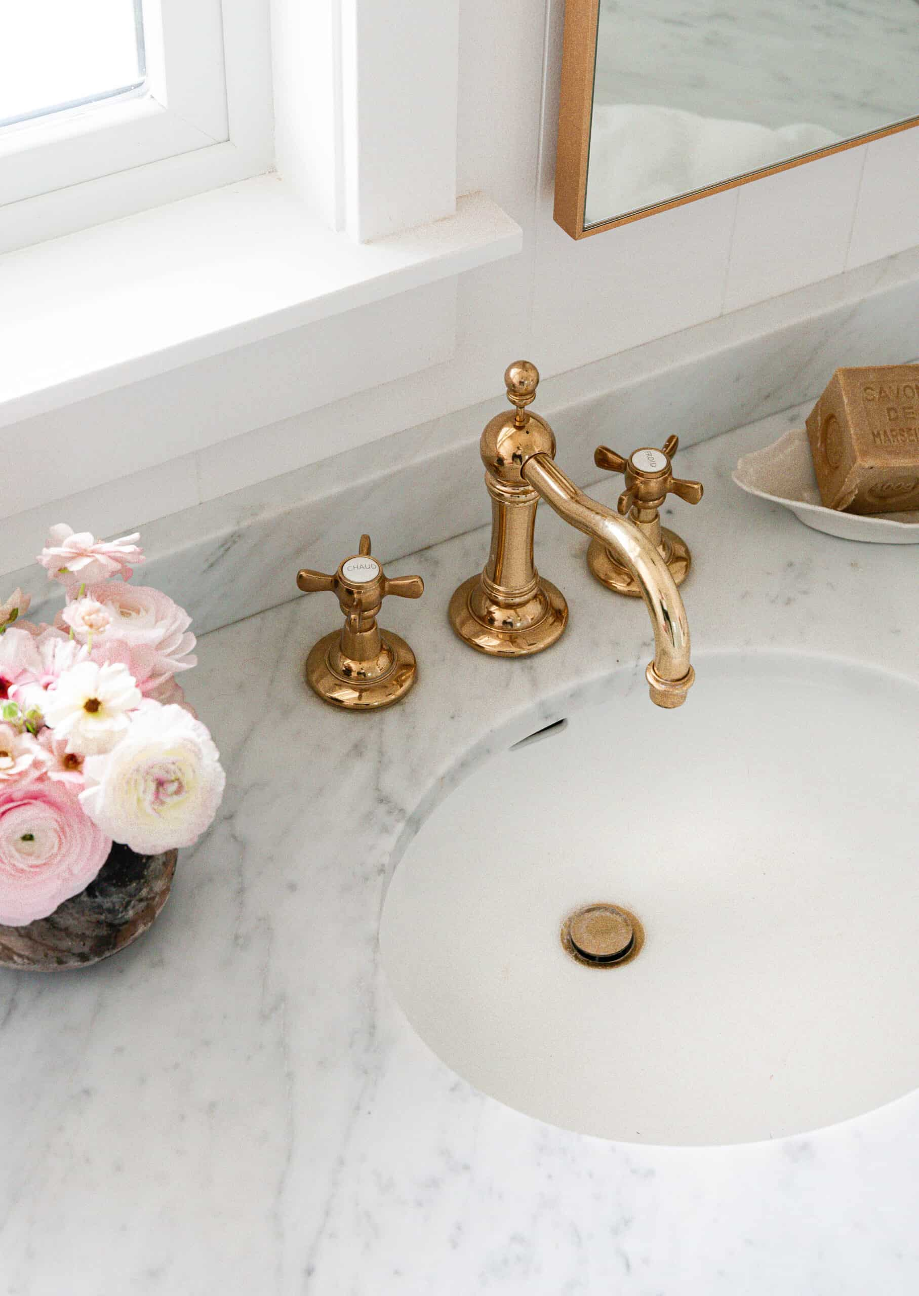The Best Brass Faucet For Your Bathroom, Unlacquered Brass Bathroom Faucet