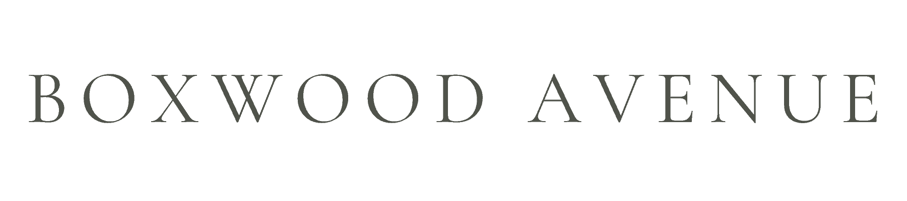Boxwood Avenue Main Logo